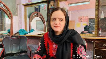 Beauty and hairstyling instructor Farzana Sarhadni
