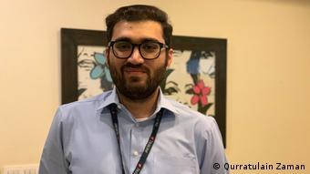Digital strategist Shaheryar Popalzai from Pakistan (photo: Qurratulain Zaman)