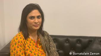 Sadaf Khan from Media Matters for Democracy Pakistan (photo: Qurratulain Zaman)