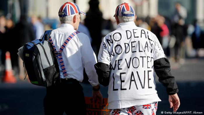 UK Brexit l Brexit Befürworter l No deal - leave