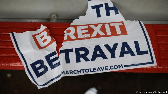 UK Brexit l Verrat (Getty Images/D. Kitwood)