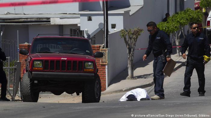 Mexiko Kriminalität l Gewalt l in in Tijuana (picture-alliance/San Diego Union-Tribune/J. Gibbins)