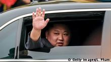Kim Jong Un in Mercedes-Limousine (Getty Images/L. Pham)