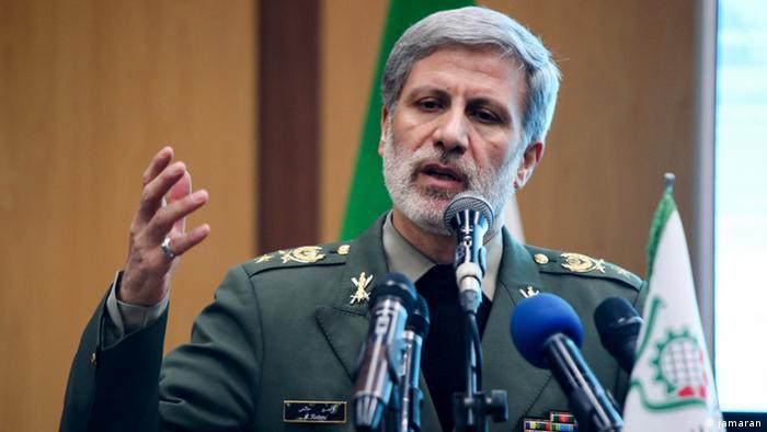 Iran Verteidigungsminister Amir Hatami