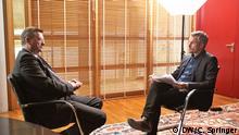 DW-Interview mit Reinhard Grindel, DFB-Präsident