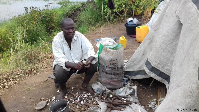 Mosambik Namacata - Mehr als 1400 obdachlose Familien (DW/M. Mueia)