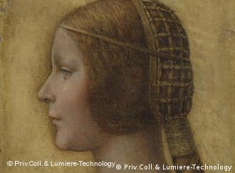The newly identified da Vinci portrait