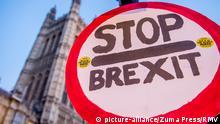 Großbritannien Protest gegen Brexit in London