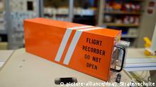 Deutschland Flugschreiber in der Bundesstelle für Flugunfalluntersuchung (BFU) in Braunschweig