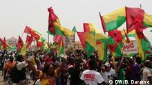 13.03.2019+++PAIGC-Anhänger feiern den Sieg bei den Parlamentswahlen. (c) DW/Braima Darame