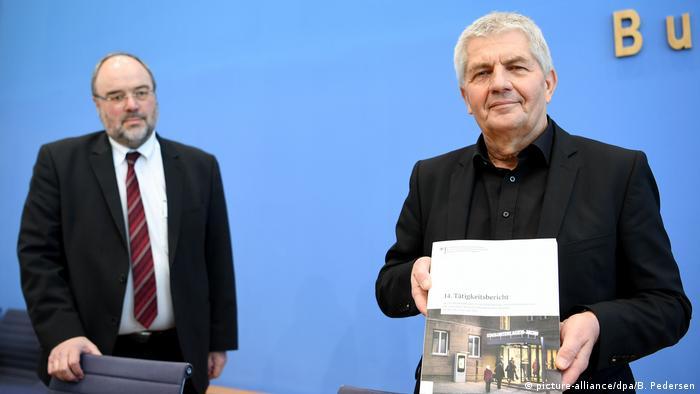 14. Tätigkeitsbericht der Stasi-Unterlagen-Behörde (picture-alliance/dpa/B. Pedersen)