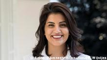 الناشطة السعودية المعتقلة لجين الهذلول