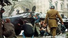 Rumänien Geschichte Revolution 1989 Kämpfe in Bukarest