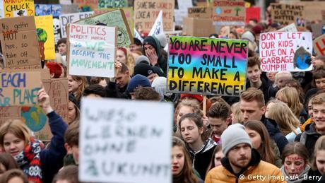 Протести по п'ятницях: школярі стурбовані змінами клімату