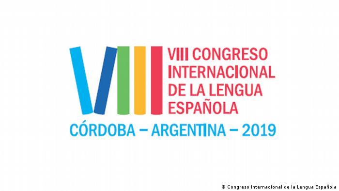 Logo del VIII Congreso Internacional de la Lengua Española, del 27 al 30 de marzo de 2019, Córdoba, Argentina.