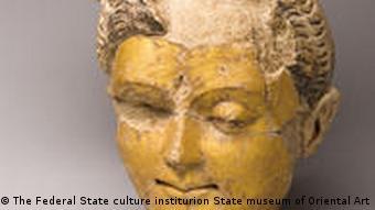 Ton Kopf des Buddha