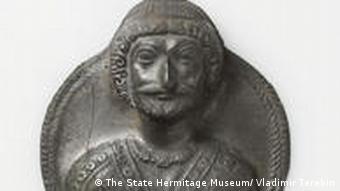 Medaillon mit Darstellung eines Partherkönigs