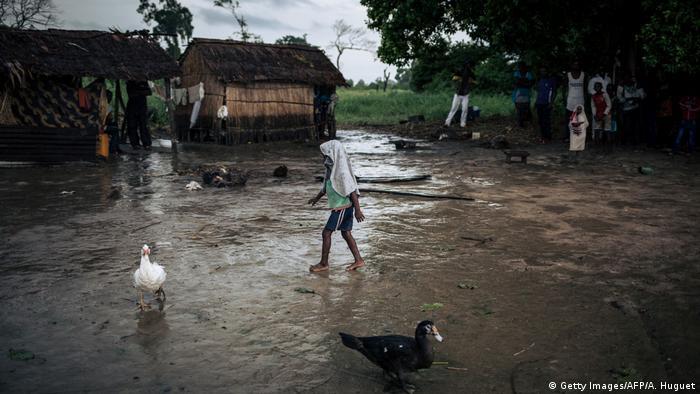 Demokratischen Republik Kongo Yumbi - Fischerdorf nahe Yumbi