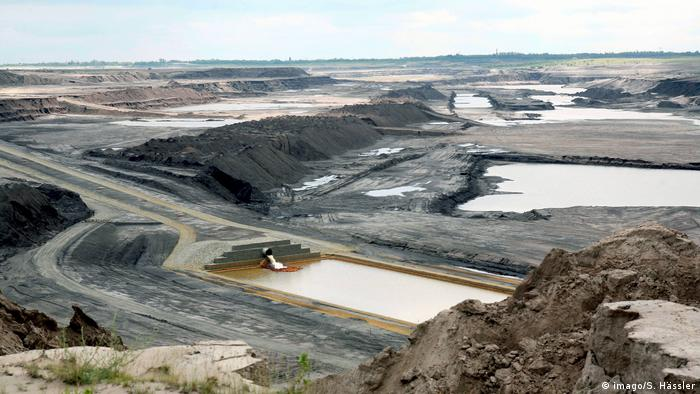 Wildlife Conservation Research - The former coal mine in Senftenberg (imago/S. Hässler)