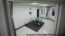 USA Moratorium für Todesstrafen in Kalifornien