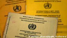 Так виглядають нинішні міжнародні сертифікати вакцинації