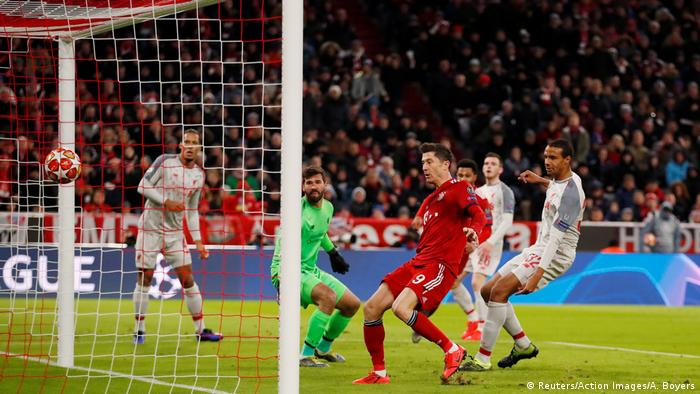 Fußball | Champions League | Bayern München vs Liverpool | 1:1 (Reuters/Action Images/A. Boyers)