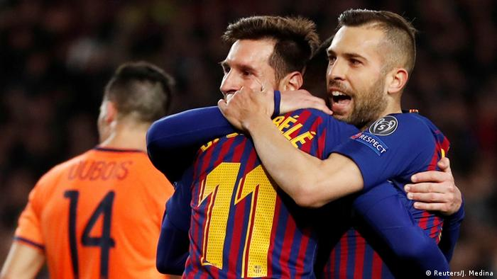 Fußball | Champions League | Lyon - Barcelona