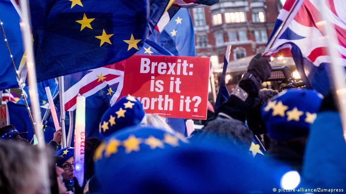 London: Brexit Proteste am 12. März