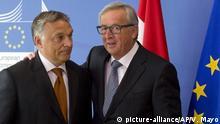 Ungarn, Budapest: Ungarn entfernt Anti-EU Soros Wahlplakate