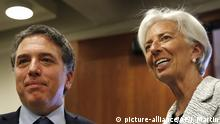 Christine Lagarde und Nicolas Dujovne