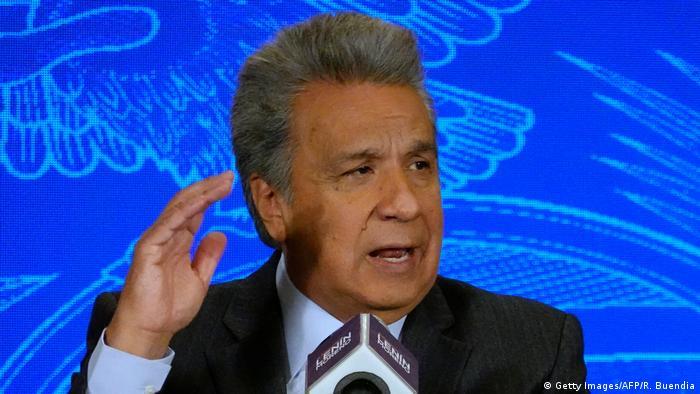 Ecuador: Präsident Lenin Moreno (Getty Images/AFP/R. Buendia)