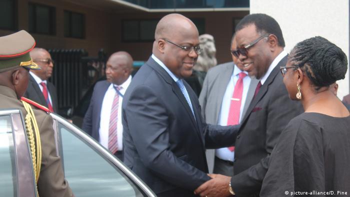 Präsident des Kongos: Felix Tshisekedi