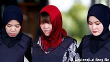 Malaysia Doan Thi Huong vor Gericht in Kuala Lumpur