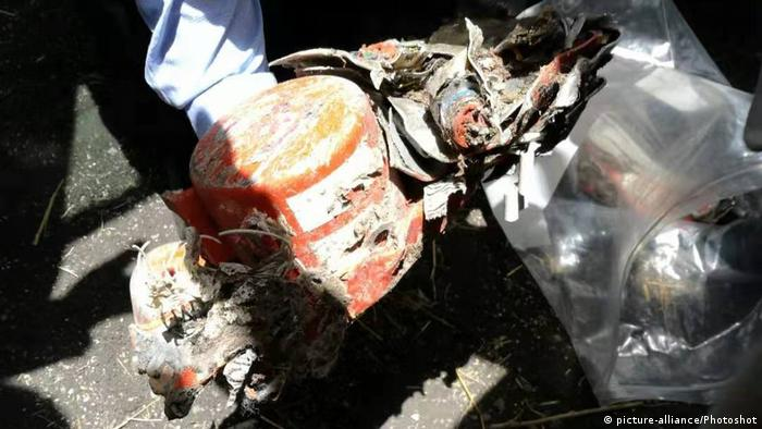 Äthiopien Flugzeugabsturz Ethiopian Airlines Flight ET 302   Black Box (picture-alliance/Photoshot)