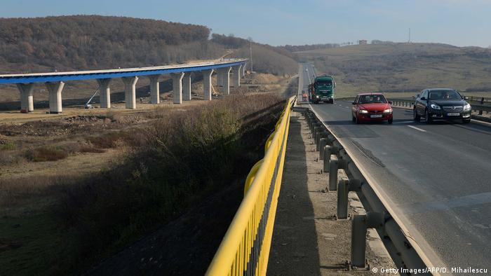 Rumänien Autobahn