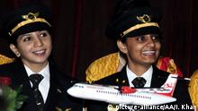 Indien Air India mit rein weiblicher Crew