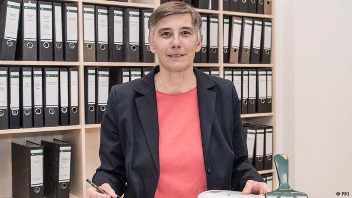 Susanne Glasmacher, portavoz del Instituto Robert Koch (RKI).