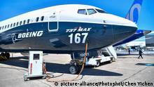 Flieger Boeing 737 MAX