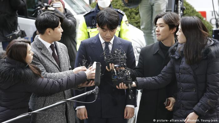 Lee Seung-hyun, a former member of K-pop group Big Bang, is currently on trial over allegations he paid for prostitutes for foreign businessmen to attract investment to his business. The scandal involving Lee, who goes by the stage name Seungri, saw the shares of his band's agency, YG Entertainment, plummeting.
