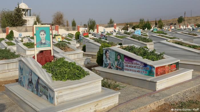 Nordost-Syrien Kleinstadt Derik
