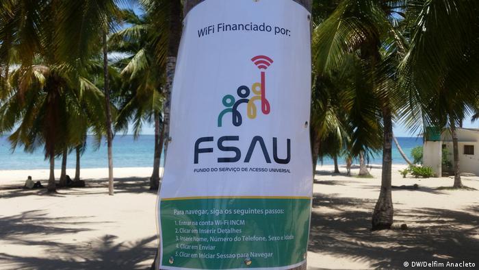 Mosambik Pemba Internet gratis