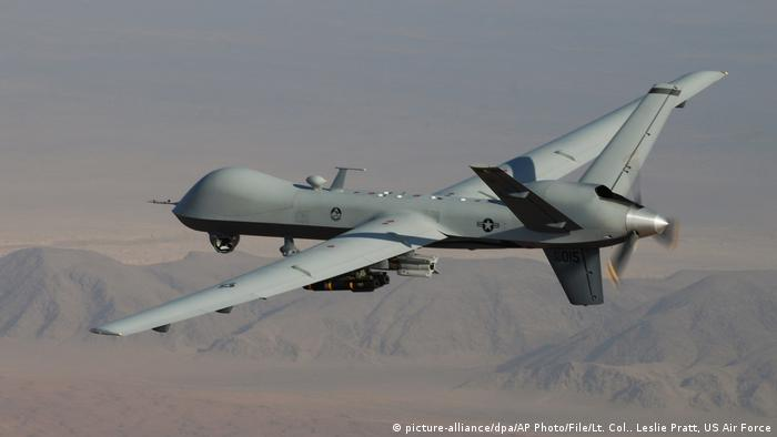 Afghanistan | Air Force Drones (picture-alliance/dpa/AP Photo/File/Lt. Col.. Leslie Pratt, US Air Force)