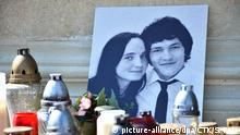 Slovakai | ermordeter Journalist Jan Kuciak und Martina Kusnirova | Freedom Square