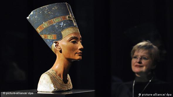 Nefertiti, atração do Novo Museu, em Berlim