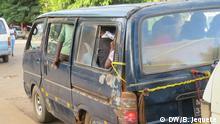 13.03.2019 Gefährlicher Verkehr in Chimoio Schlechte Bedingungen in Minibus