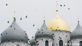 St. Sophia Church in Novgorod, Russia