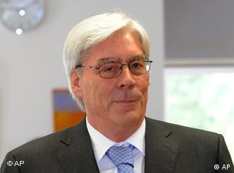 Former BayernLB chief executive Werner Schmidt