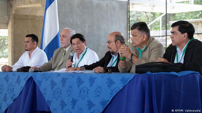 Nicaragua Sitzung zwischen Regierung und Oposition in Managua (AFP/M. Valenzuela)