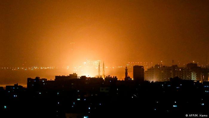 Palästina Luftangriffe auf Gaza (AFP/M. Hams)