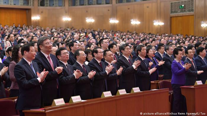 China Nationaler Volkskongress in Peking (picture-alliance/Xinhua News Agency/Li Tao)